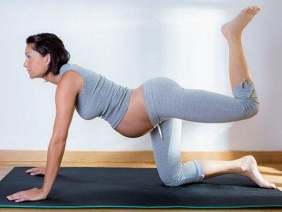 Во 2 триместре гимнастика для беременных