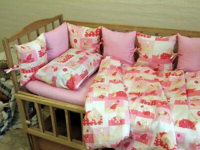 Сшить бортики в кроватку для новорожденных