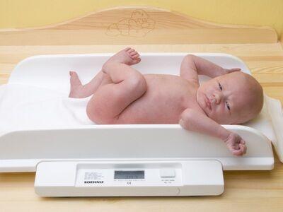 набор веса ребенком