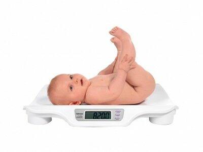 Набор веса у грудничков по месяцам. Таблица