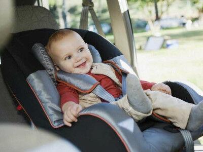 Автокресло для перевозки детей в автомобиле