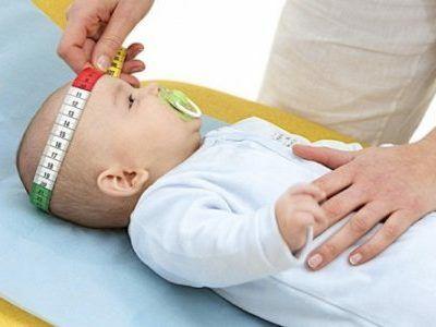 окружность головы ребенка