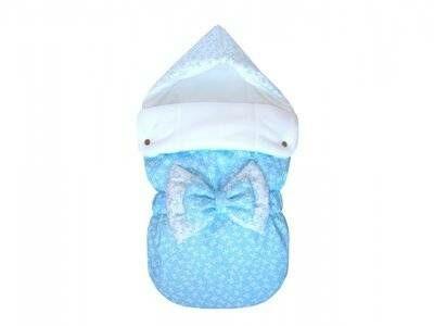 зимняя шапочка для новорожденного на выписку