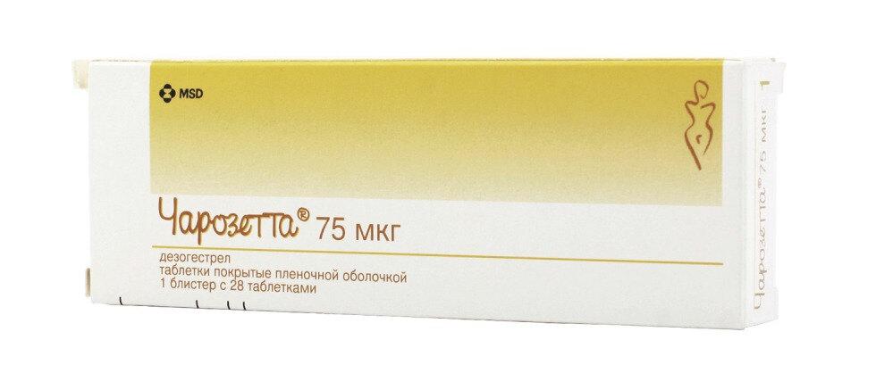 Чарозетта (таблетки, 28 шт) - цена, купить онлайн в Москве, описание ...