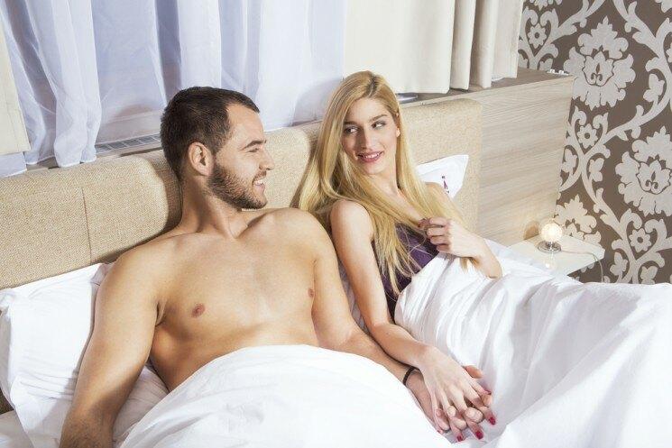 Как удовлетворить мужину в постели?