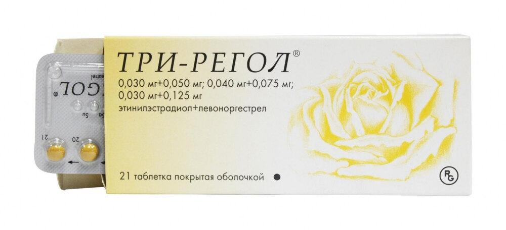 противозачаточные таблетки три регол
