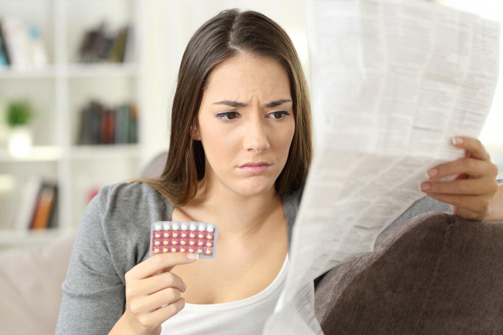 10 побочных эффектов, которые возникают при приеме противозачаточных ...