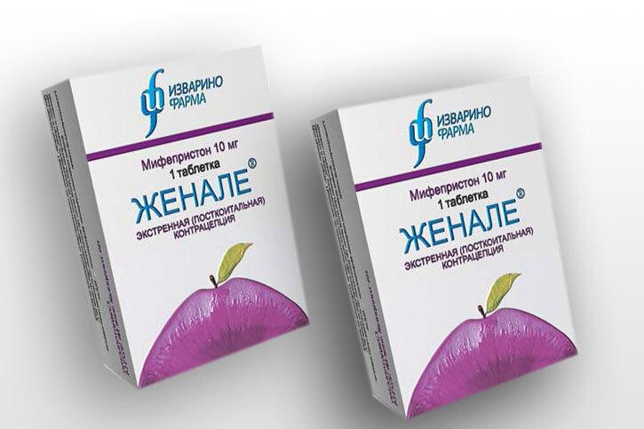 Женале: противозачаточные таблетки для прерывания беременности на ...