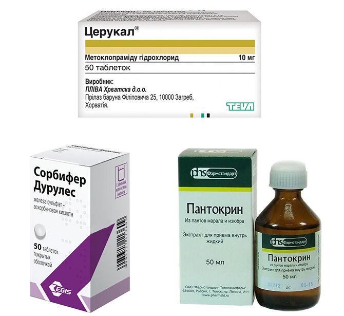 Лекарства при головокружении