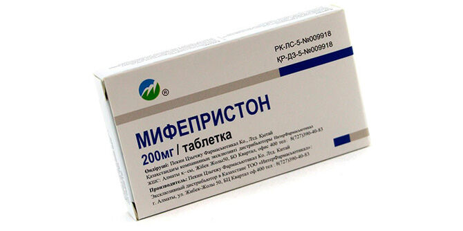 Препарат Мифепристон
