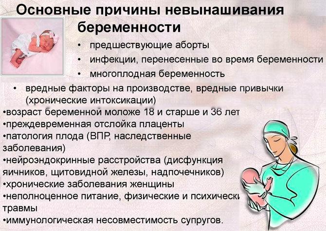 Причины замершей беременности